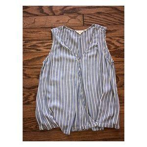 🌴 2/$15 Fat Face stripe blouse 8